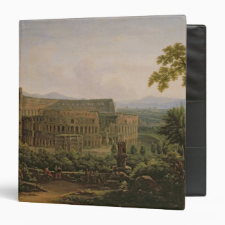 View of the Colosseum from the Palatine Hill 3 Ring Binder