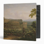 View of the Colosseum from the Palatine Hill Vinyl Binder