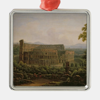 View of the Colosseum from the Palatine Hill Metal Ornament