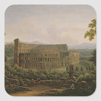 View of the Colosseum from the Palatine Hill Square Sticker