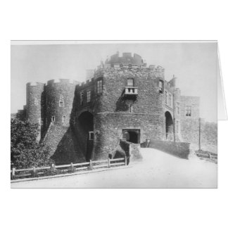 View of the Constable's Gate, built 1221-27 Card