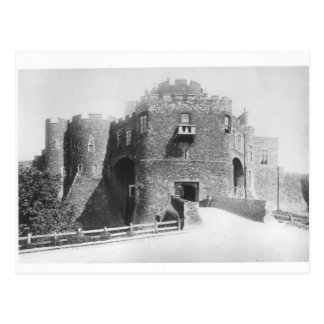 View of the Constable's Gate, built 1221-27 Postcard