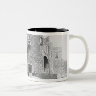 View of the Constable's Gate, built 1221-27 Two-Tone Coffee Mug