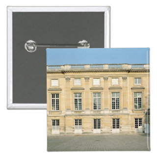 View of the Courtyard Facade of the Petit Pinback Button
