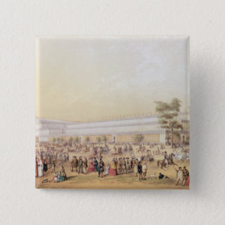 View of the Crystal Palace Pinback Button