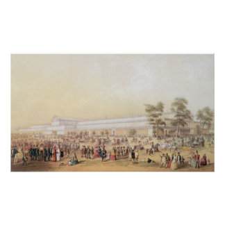 View of the Crystal Palace Poster