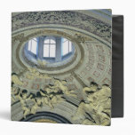 View of the cupola with angel musicians 3 ring binder
