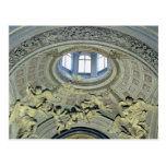 View of the cupola with angel musicians postcard