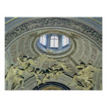 View of the cupola with angel musicians poster