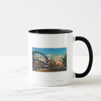 View of the Cyclone Rollercoaster # 1 Mug