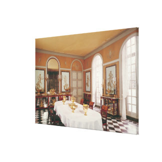 dining room wrapped canvas prints zazzle