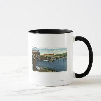 View of the Docks Mug
