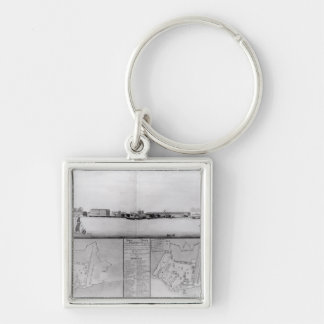 View of the Dockyard at Portsmouth Keychain