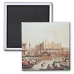 View of the Doge's Palace and the Piazzetta Magnets