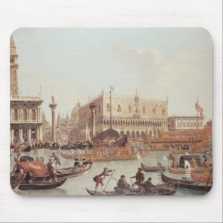 View of the Doge's Palace and the Piazzetta Mouse Pads