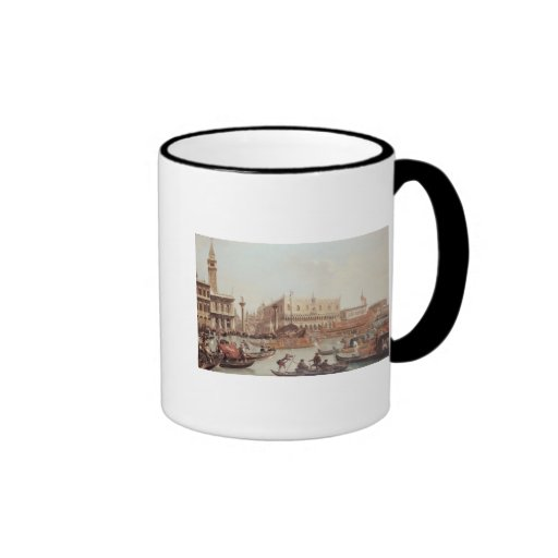 View of the Doge's Palace and the Piazzetta Coffee Mug