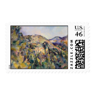 View of the Domaine Saint-Joseph - Paul Cézanne Postage Stamps