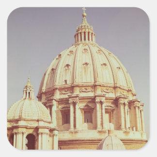 View of the dome, 1546-93 square sticker