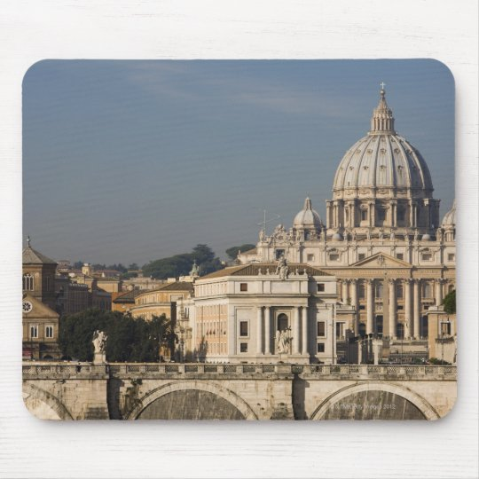 View of the dome of St Peter's Basilica with Mouse Pad