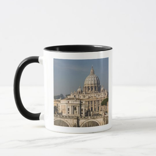 View of the dome of St Peter's Basilica with Mug