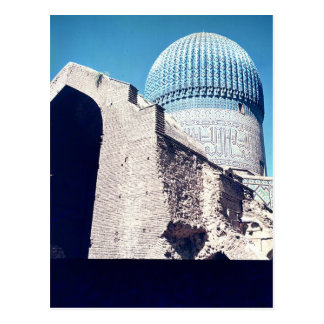 View of the dome, Timurid period, c.1403 Postcard