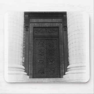 View of the door of La Madeleine Mouse Pad