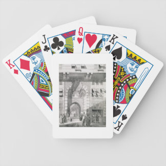 View of the Door of Okal Kaid-Bey, from 'Monuments Bicycle Playing Cards