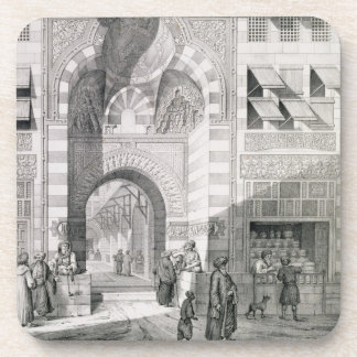 View of the Door of Okal Kaid-Bey, from 'Monuments Coaster
