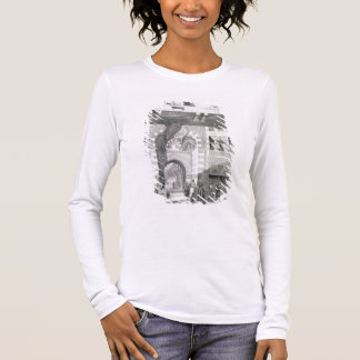 View of the Door of Okal Kaid-Bey, from 'Monuments Long Sleeve T-Shirt