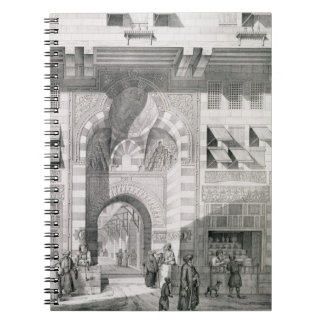 View of the Door of Okal Kaid-Bey, from 'Monuments Notebook