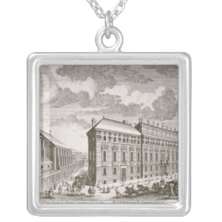 View of the Dorotheergasse showing the Silver Plated Necklace