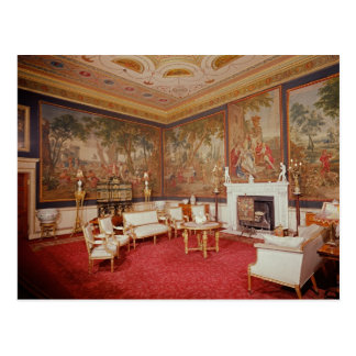 View of the drawing room postcard