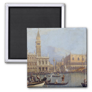 View of the Ducal Palace in Venice - Canaletto Magnets