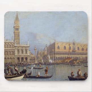 View of the Ducal Palace in Venice - Canaletto Mouse Pad