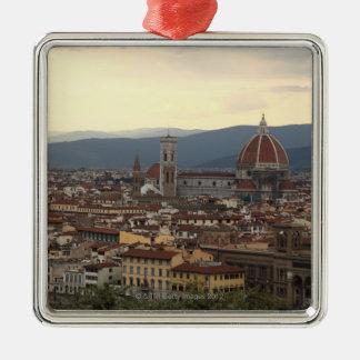 View of the Duomo Santa Maria Del Fiore in Metal Ornament