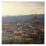 View of the Duomo Santa Maria Del Fiore in Tile