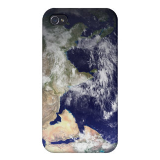 View of the Earth from space iPhone 4 Cover