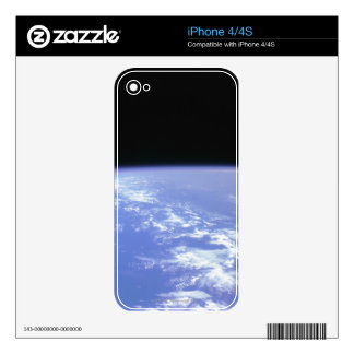 View of the Earth From Space iPhone 4 Skin