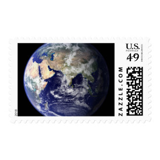 View of the Earth from space Postage