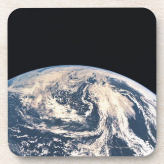 View of the Earths Surface Beverage Coaster