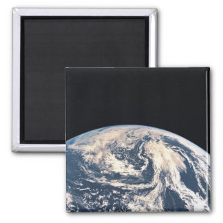 View of the Earths Surface Refrigerator Magnets