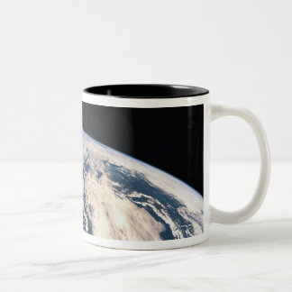 View of the Earths Surface Two-Tone Coffee Mug