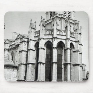 View of the east end of the church, built mouse pad