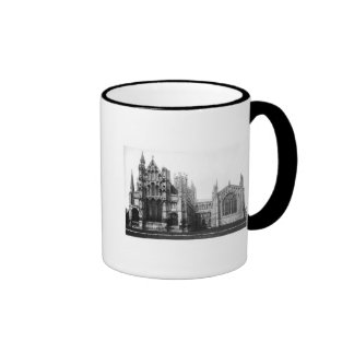 View of the east facade and the choir, c.1321-40 ringer mug