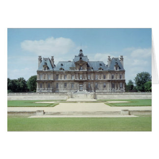 View of the East facade of Chateau de Maisons Greeting Card