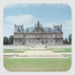 View of the East facade of Chateau de Maisons Square Sticker