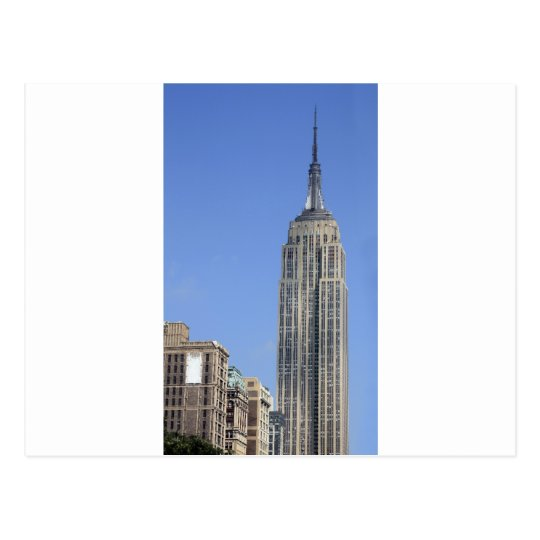 View of the Empire State Building Postcard