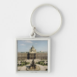 View of the entrance and north fa�ade keychain