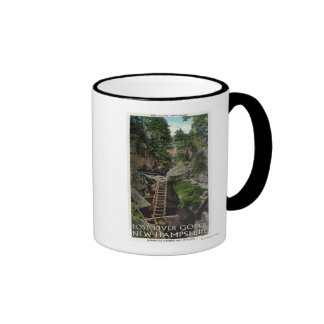 View of the Entrance to Judgment Hall of Plato Coffee Mug