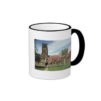View of the exterior, built 1093-1280 coffee mug